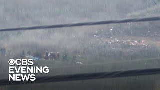 """Kobe Bryant was taking his 13-year-old daughter and her friends to a basketball tournament when the helicopter they were in crashed. They were flying in thick fog but received permission to fly. As Jonathan Vigliotti reports, there was no distress call.  Subscribe to the """"CBS Evening News"""" Channel HERE: http://bit.ly/1S7Dhik Watch Full Episodes of the """"CBS Evening News"""" HERE: http://cbsn.ws/23XekKA Watch the latest installment of """"On the Road,"""" only on the """"CBS Evening News,"""" HERE: http://cbsn.ws/23XwqMH Follow """"CBS Evening News"""" on Instagram: http://bit.ly/1T8icTO Like """"CBS Evening News"""" on Facebook HERE: http://on.fb.me/1KxYobb Follow the """"CBS Evening News"""" on Twitter HERE: http://bit.ly/1O3dTTe Follow the """"CBS Evening News"""" on Google+ HERE: http://bit.ly/1Qs0aam  Get your news on the go! Download CBS News mobile apps HERE: http://cbsn.ws/1Xb1WC8  Get new episodes of shows you love across devices the next day, stream local news live, and watch full seasons of CBS fan favorites anytime, anywhere with CBS All Access. Try it free! http://bit.ly/1OQA29B  --- The """"CBS Evening News"""" premiered as a half-hour broadcast on Sept. 2, 1963. Check local listings for CBS Evening News broadcast times."""