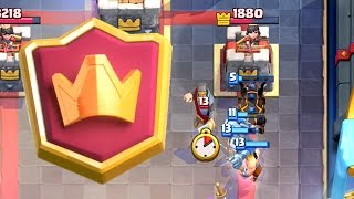 Clash Royale - CHAMPION! A Dramatic Ending