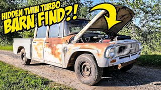 We Found A Dirty Old Pickup Truck With An INSANE TWIN TURBO KIT (Barn Find)