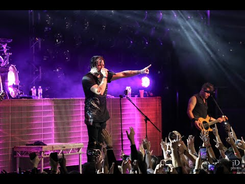 Three Days Grace - Abyss (new song) (live in Minsk 2018)