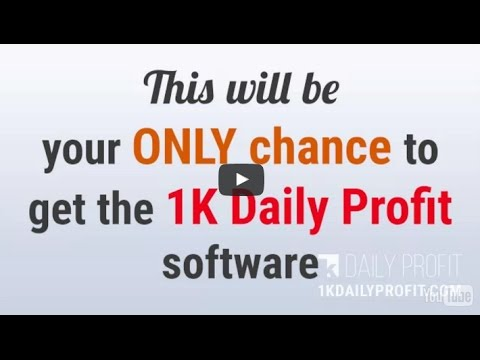 1k daily profit system review with HUGE €6,345 BALANCE UPDATE!