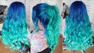 Cabelo De Sereia Em Degrade, Mermaid Hair Passo A Passo Por Rafael Secolin