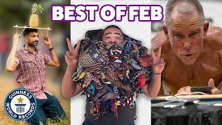Incredible new February records - Guinness World Records