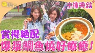 【來噪咖變美吧】賞櫻野餐配海鮮丼飯鯛魚燒!一張車票玩日本滿足感up!