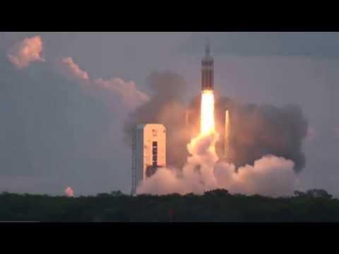 INTENSE Sound of Orion EFT-1 Launch on Delta IV Heavy Rocket