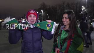 Russia: Fans praise new stadium as Russia, Brazil play pre-World Cup friendly