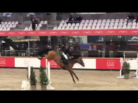 Isolde winning 1.45m @sentower 15-01-21