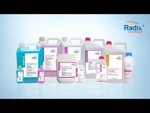 RADIX | Hospitals Disinfectants