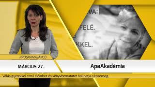 Programajánló / TV Szentendre / 2019.03.21.