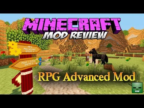 RPG ADVANCED MOD - ¡Carteles guía! [Forge][1.7.2]