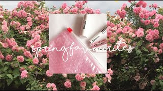 Spring Favourites - Video Youtube