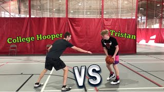 BEST COMP YET! 1v1 against college hooper!