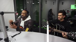 Shakka Ft. AlunaGeorge   Man Down (LIVE @ZIP FM)