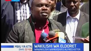 Alfred Keter akashifiwa Eldoret