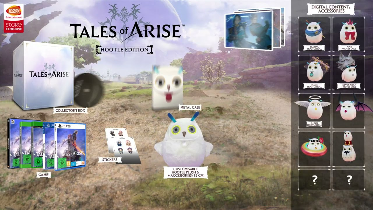 TALES OF ARISE - Hootle Edition [PS5] video 1