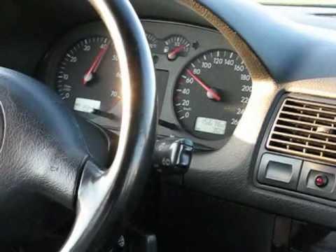 Wie das Tachometer auf das Golf das 2 Benzin anzuschließen