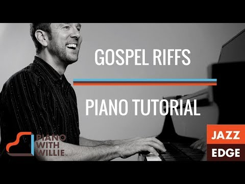 Learn to Play Gospel Piano Riffs - Piano Tutorial by JAZZEDGE