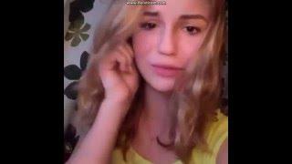 Марьяна плачет из-за подписчиков