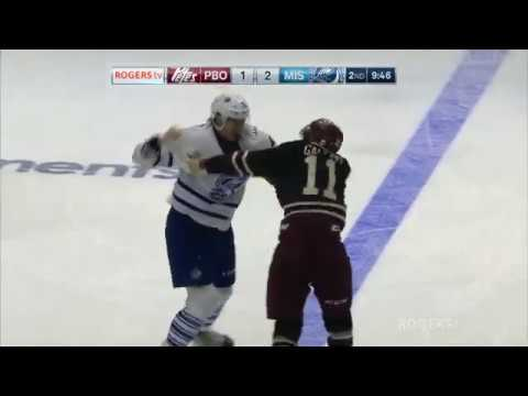 Nicolas Hague vs. Zach Gallant