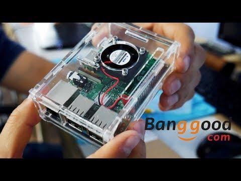 MINI PC Raspberry Pi 3 para hacer Smart TV o Computadora Banggood