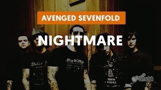 Nightmare - Avenged Sevenfold (aula de guitarra)
