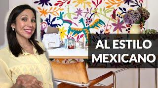 Cómo Decorar Estilo Mexicano con 5 Propuestas