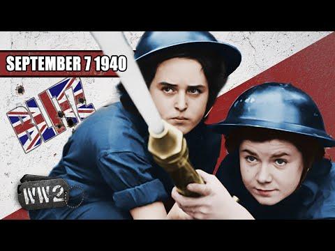 Londýn v plamenech - Druhá světová válka