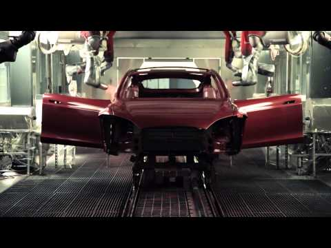 Beautiful Tesla Motors Sizzle Reel Video