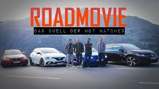 VW Golf IV R32 vs. Renault Megane RS vs. Golf GTI vs. BMW 230i | Das DUELL der HOT HATCHES!