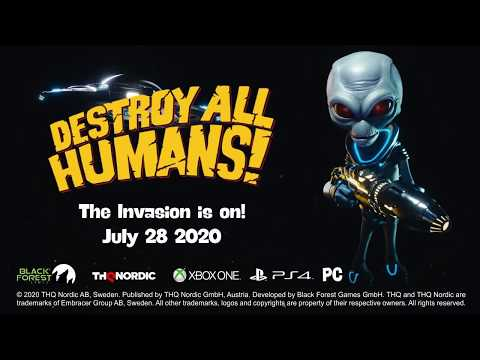 Видео № 0 из игры Destroy All Humans! [Xbox One]