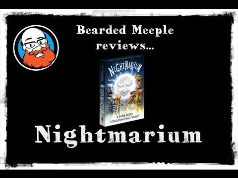 Bearded Meeple reviews : Nightmarium