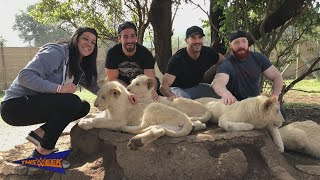 """WWE Superstars experience """"life memories"""" in South Africa"""