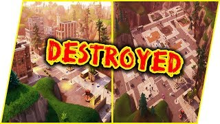 We CLEARED Tilted Towers! LITERALLY! - Fortnite Gameplay