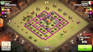 clash of clans ultimate gamerz attaque part :Pierre