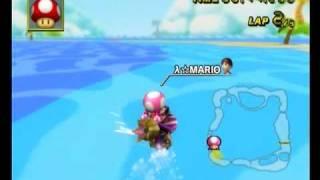 GBA Shy Guy Beach 1'22''383 λ☆MARIO - Mario Kart Wii World Champion