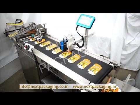 Automatic Carton Dispenser For Inkjet Printing, Inkjet Printing Conveyor