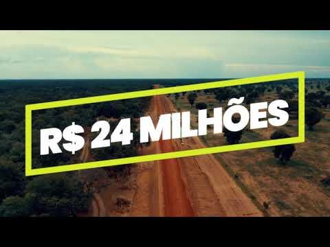 Implantação da estrada do Taquari