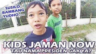 Tebak Nama Presiden RI, Kids Jaman Now Dapat Hadiah ini