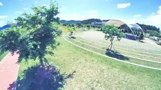 [DJI FPV] lnsta360 go//경산 삼성현공원