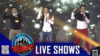"Pinoy Boyband Superstar Live Shows: Ford, James & Joao - ""Picture Of You"""