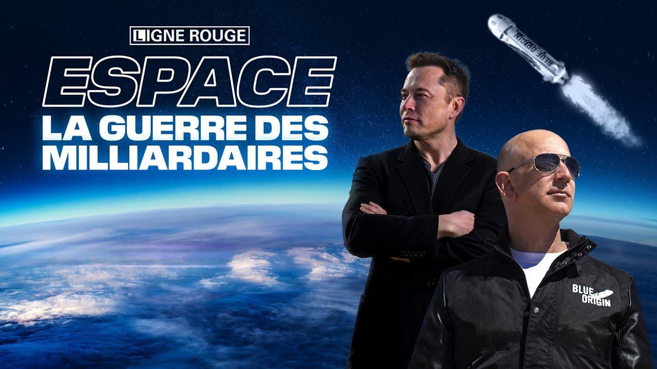 Espace: la guerre des milliardaires