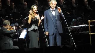 Andrea Bocelli with Nicole Scherzinger - Canto Della Terra - O2 London - Oct 1st 2016