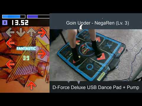 Goin Under - NegaRen (Lv. 3) - D-Force Deluxe USB Dance Pad + Pump | StepMania