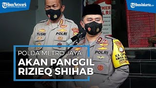 Naikkan Status ke Penyidikan, Polda Metro akan Panggil Rizieq Shihab Terkait Acara di Petamburan