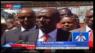 KTN Prime: Petroleum transporters shelf strike after CS Charles Keter showing interest to dialogue