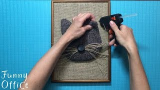 Tutorial How to make a Cat Lover Gift Ideas DIY