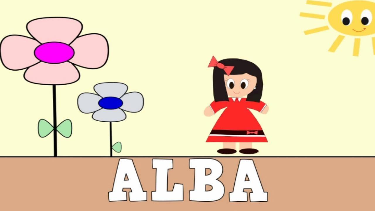 Aprender a Leer y Escribir ALBA - Vídeos Educativos para Niños y Bebés