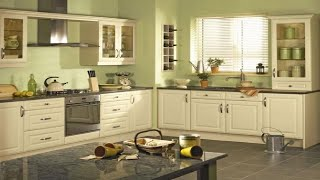 Green Colors Kitchen Design Ideas