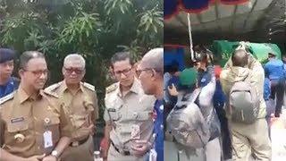 Anies Baswedan dan Sandiaga Uno Melayat Petugas Damkar yang Tewas saat Bertugas