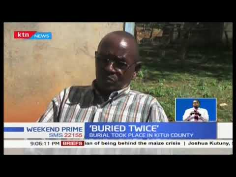 Mystery of the man that was 'buried twice'